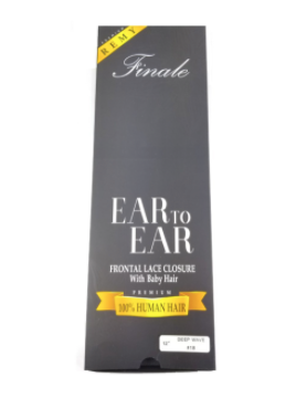 Finale Ear to Ear Frontal Lace Closure Remi Straight 12