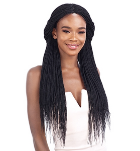 Freetress Equal Luxury Integration  Braided Lace Wig - MILLION TWIST