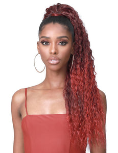 Bobbi Boss Miss Origin Tress Up Pony Tail- Water Wave 28""