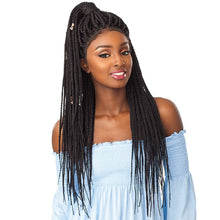 Sensationnel Cloud 9 Swiss 4x4 Lace Parting Wig - Box Braid Large