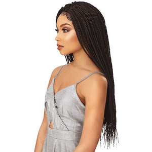 Sensationnel Cloud 9 Swiss4X4 Lace Parting Wig - Box Braid Small
