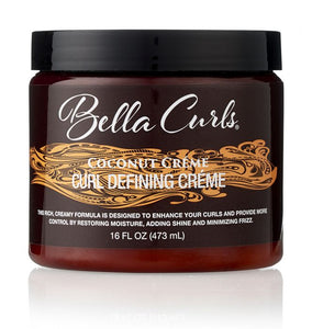Bella Curls Coconut Curl Defining Creme, 16oz