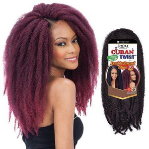 Shake N Go Freetress Equal Cuban Twist Double Strand Style 16""