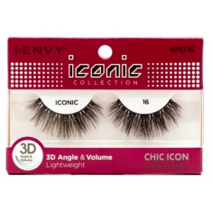 Kiss iENVY 3D Lashes- Chic Collection (ICONIC)
