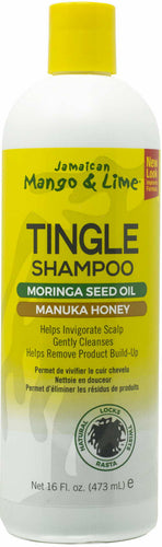 Jamaican Mango & Lime Tingle Shampoo Manuka Honey, 16 fl oz