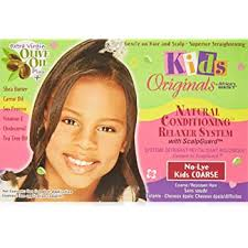 Africa's Best Kid's Originals Natural Conditioning Relaxer System - Coarse