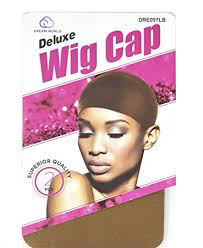 Dream World Deluxe Wig Cap 2 Pack Light Brown