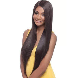 Janet Collection Natural Super FLow Deep Part Lace Premium Fiber Hair Wig - DAVISA