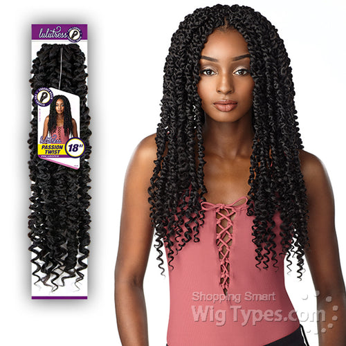 Sensationnel Lulutress Pre looped Crochet Braid Passion Twist - 18