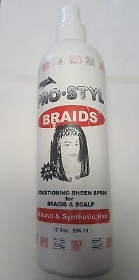 Ampro Pro Styl Braids Codition Sheen Spray