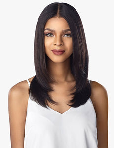 Sensationnel 10A Unprocessed 100% Virgin Human Hair Lace Wig - STRAIGHT
