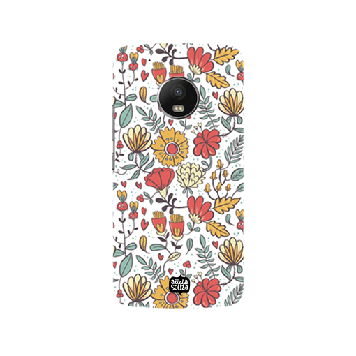 Big Flowers - Moto G5  Phone Cover - Alicia Souza