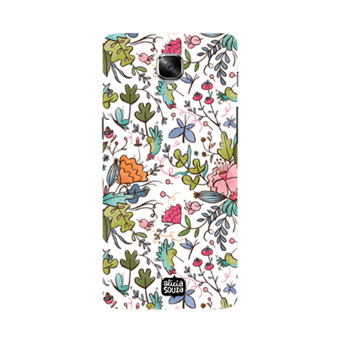 Humming Bird White - Oneplus 3 Phone Cover - Alicia Souza