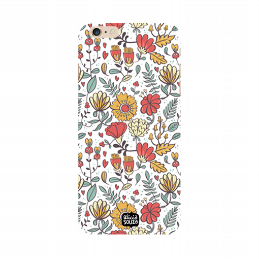 Big Flowers - iPhone 6 / 6s Phone Cover - Alicia Souza