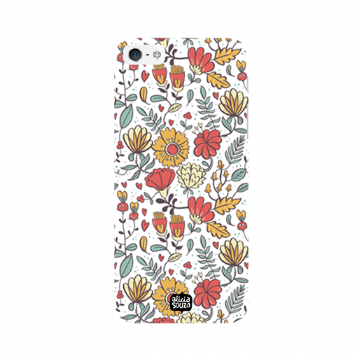 Big Flowers - iPhone 5/ 5S Phone Cover - Alicia Souza