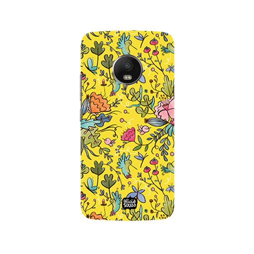 Humming Bird Yellow - Moto G5 Plus Phone Cover - Alicia Souza