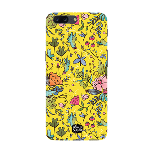 Humming Bird Yellow - Oneplus 5 Phone Cover - Alicia Souza