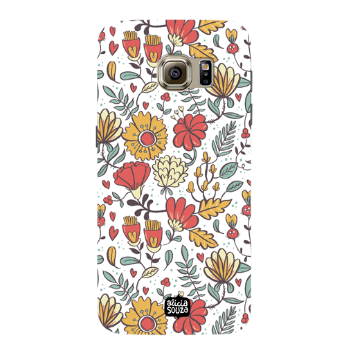 Big Flowers - Samsung Galaxy S7 Phone Cover - Alicia Souza