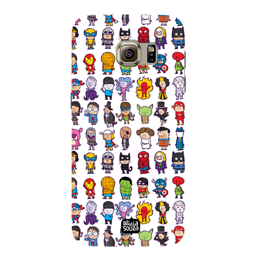 Superhero - Samsung Galaxy S7 Phone Cover - Alicia Souza
