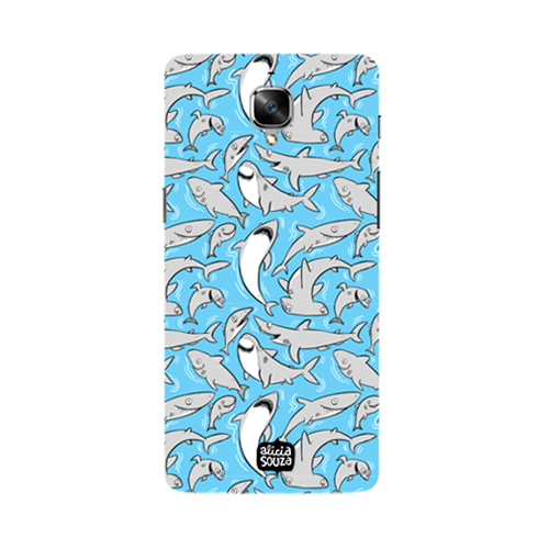 Sharks - Oneplus 3 Phone Cover - Alicia Souza