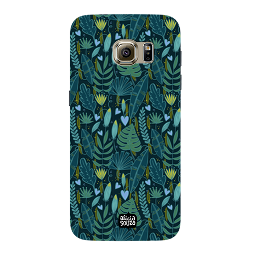 Green Leaves - Samsung Galaxy S7 Phone Cover - Alicia Souza