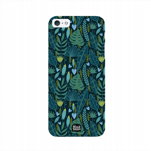 Green Leaves - iPhone 5/ 5S Phone Cover - Alicia Souza