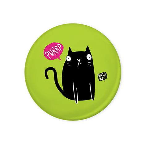 Cat Burp Badge