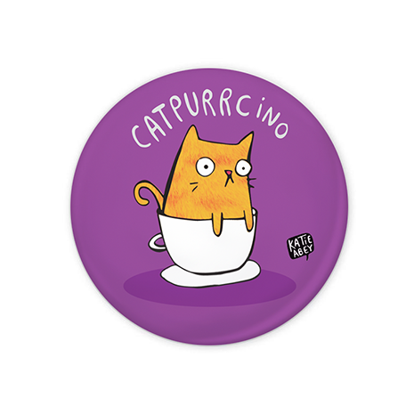 Catpurrcino Badge