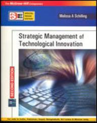 Strategic Management Of Technological Innovation (sie)