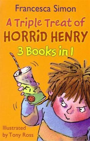 Triple Treat Of Horrid Henry (3 in 1) (English)