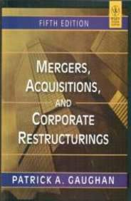 Mergers, Acquisitions, And Corporate Restructurings PB (English)