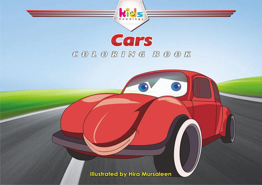 CARS: COLORING BOOK