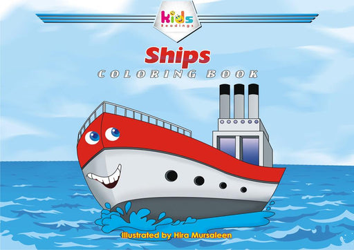 SHIPS: COLORING BOOK