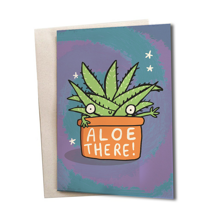 Aloe there Greeting Card