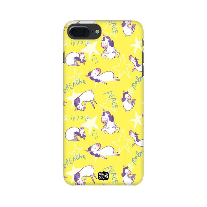 Yoga Unicorn - iPhone 8 Plus Phone Cover - Alicia Souza