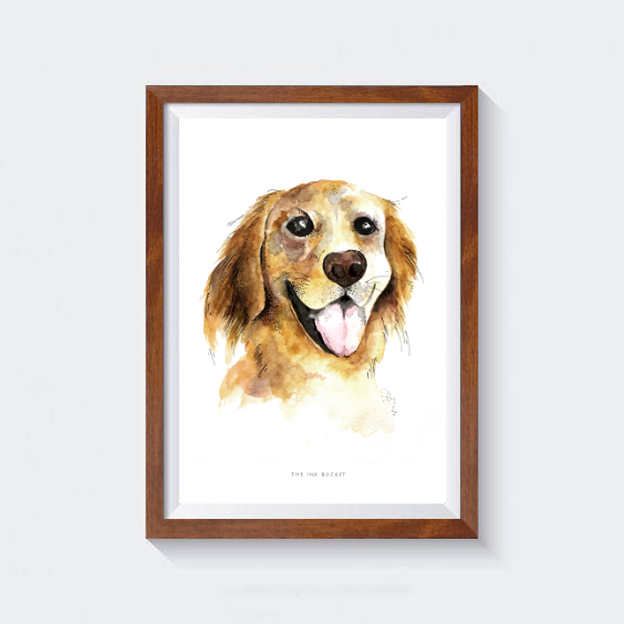 Golden Retriever Wall Art