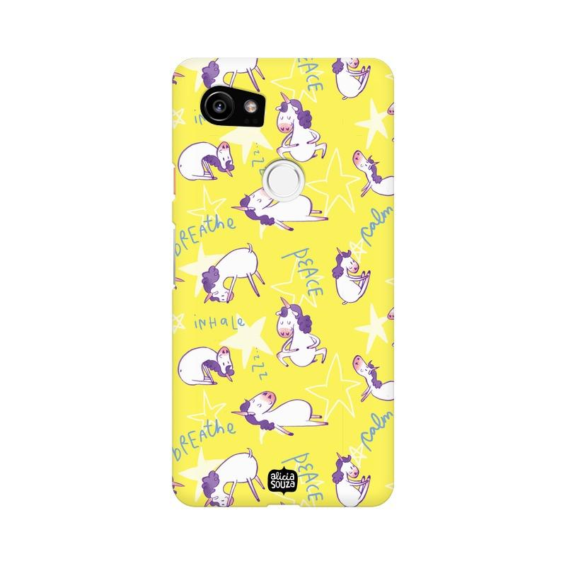 Yoga Unicorn - Google Pixel XL 2 Phone Cover - Alicia Souza