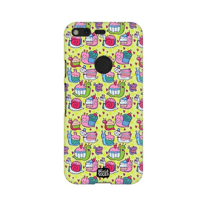 Snail Pace - Google Pixel XL Phone Cover - Alicia Souza