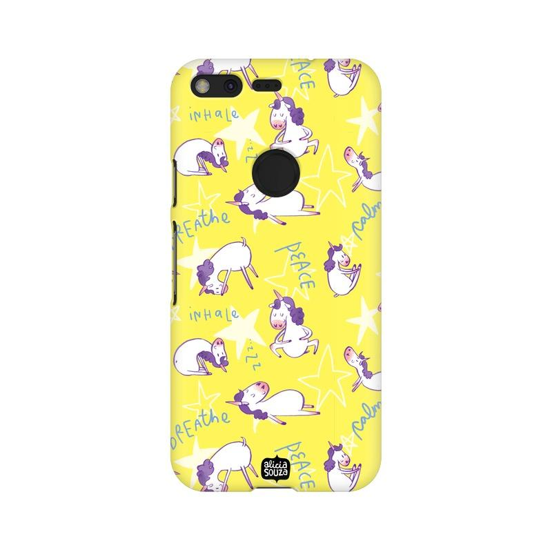 Yoga Unicorn - Google Pixel XL Phone Cover - Alicia Souza