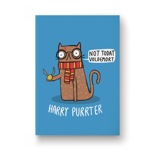 Harry Purrter Jotbook