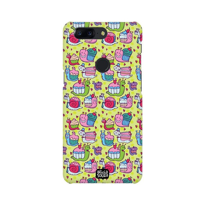 Snail Pace - OnePlus 5T Phone Cover - Alicia Souza
