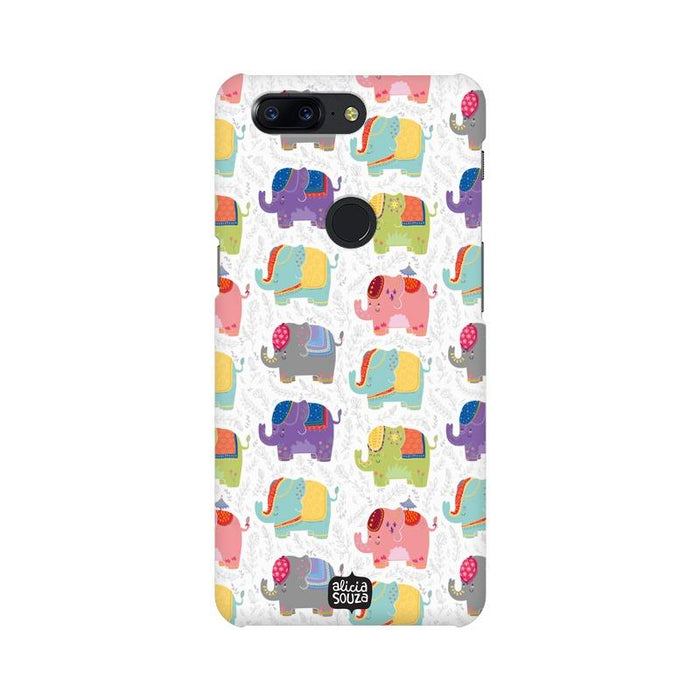 Elephants - OnePlus 5T Phone Cover - Alicia Souza