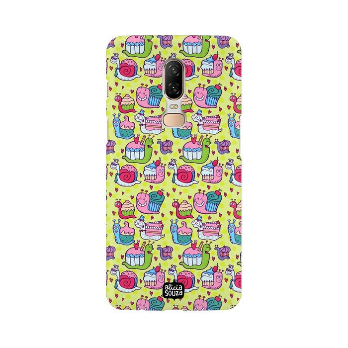 Snail Pace - OnePlus 6 Phone Cover - Alicia Souza