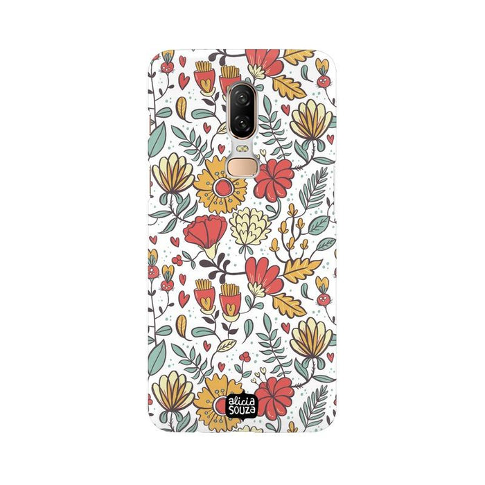 Big Flowers - OnePlus 6 Phone Cover - Alicia Souza