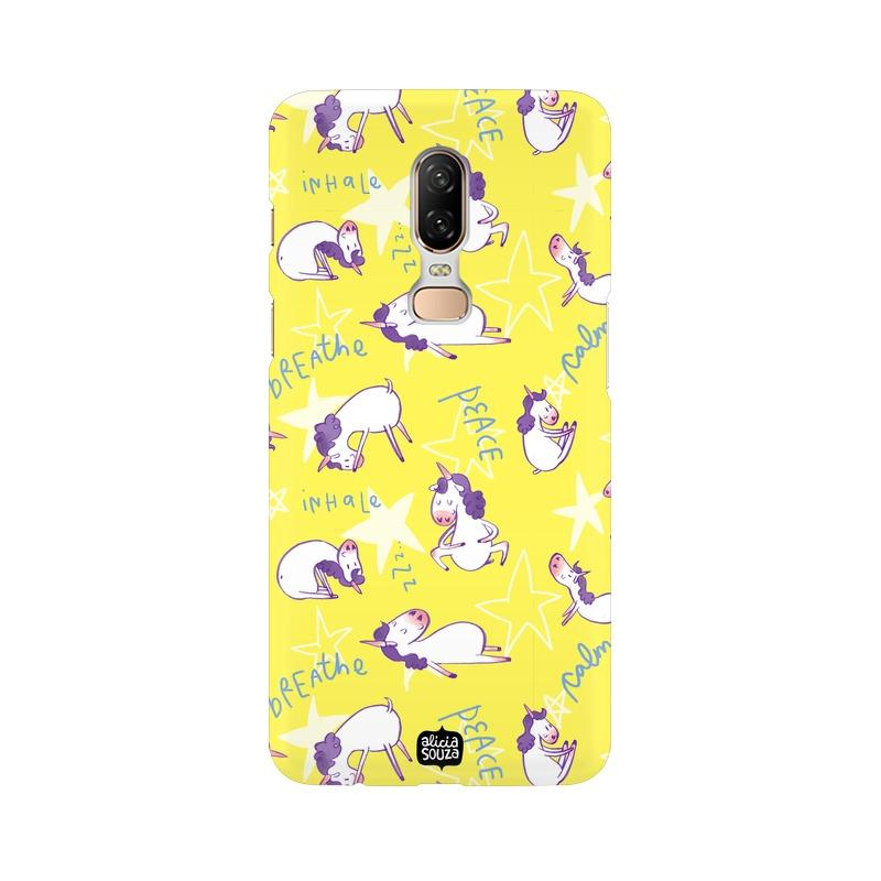 Yoga Unicorn - OnePlus 6 Phone Cover - Alicia Souza