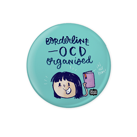 OCD Organised Badge - Alicia Souza
