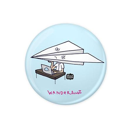 Wanderlust Badge - Alicia Souza
