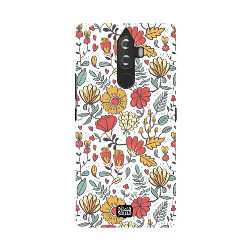 Big Flowers - Lenovo K8 Note Phone Cover - Alicia Souza