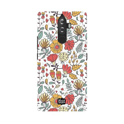 Big Flowers - Lenovo K8 Plus Phone Cover - Alicia Souza