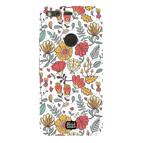 Big Flowers - Google Pixel Phone Cover - Alicia Souza